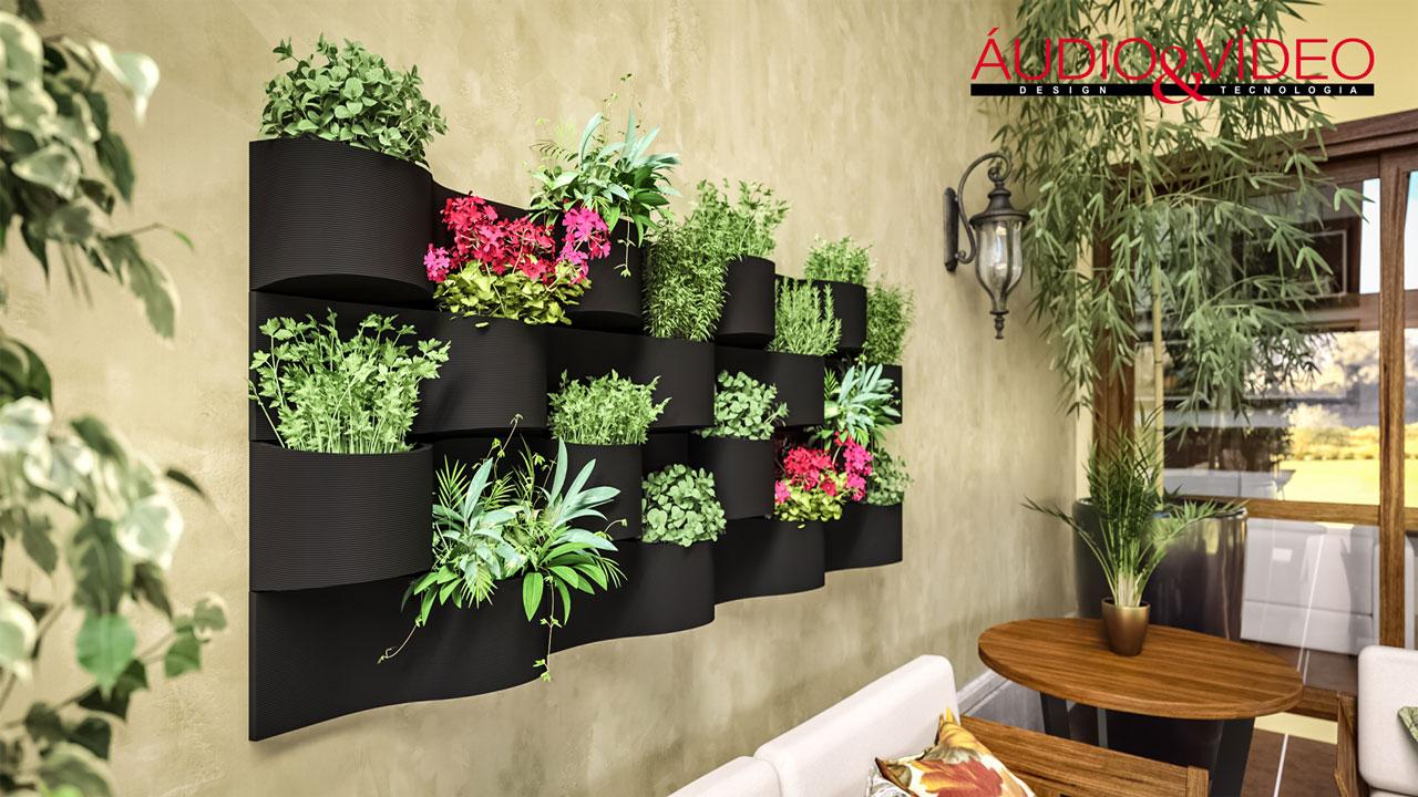 Jardim vertical a solu o para apartamentos udio v deo for Plantas recomendadas para jardin vertical