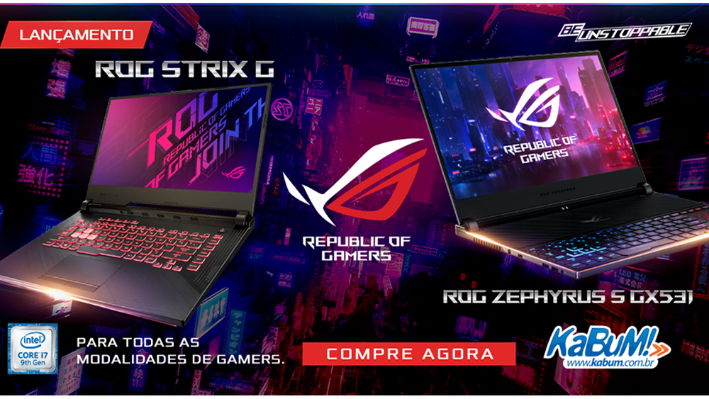 Asus - notebook para gamers