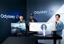 Com visual arrojado, monitores Odyssey G7 e G9, da Samsung, são tão descolados quanto o público gamer