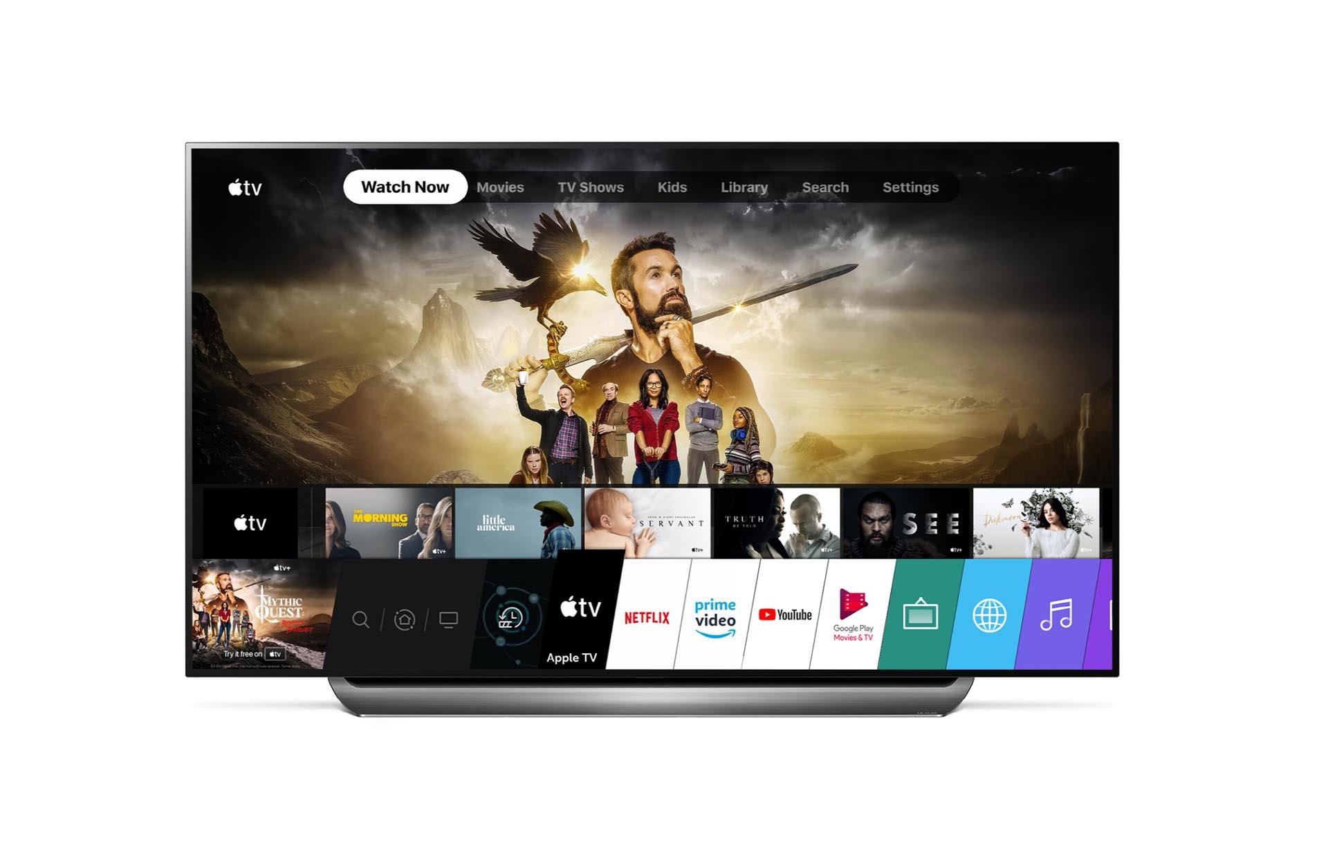 A LG disponibiliza o app Apple TV para Smart TVs