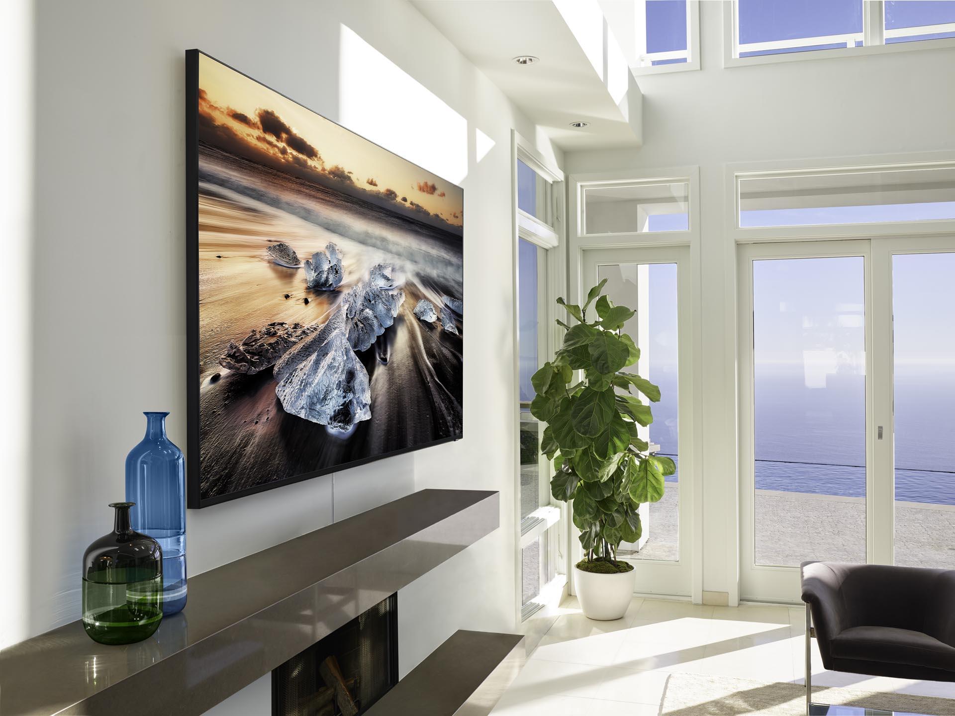 A Samsung QLED 8K Q900 entrega 33 milhões de pixels
