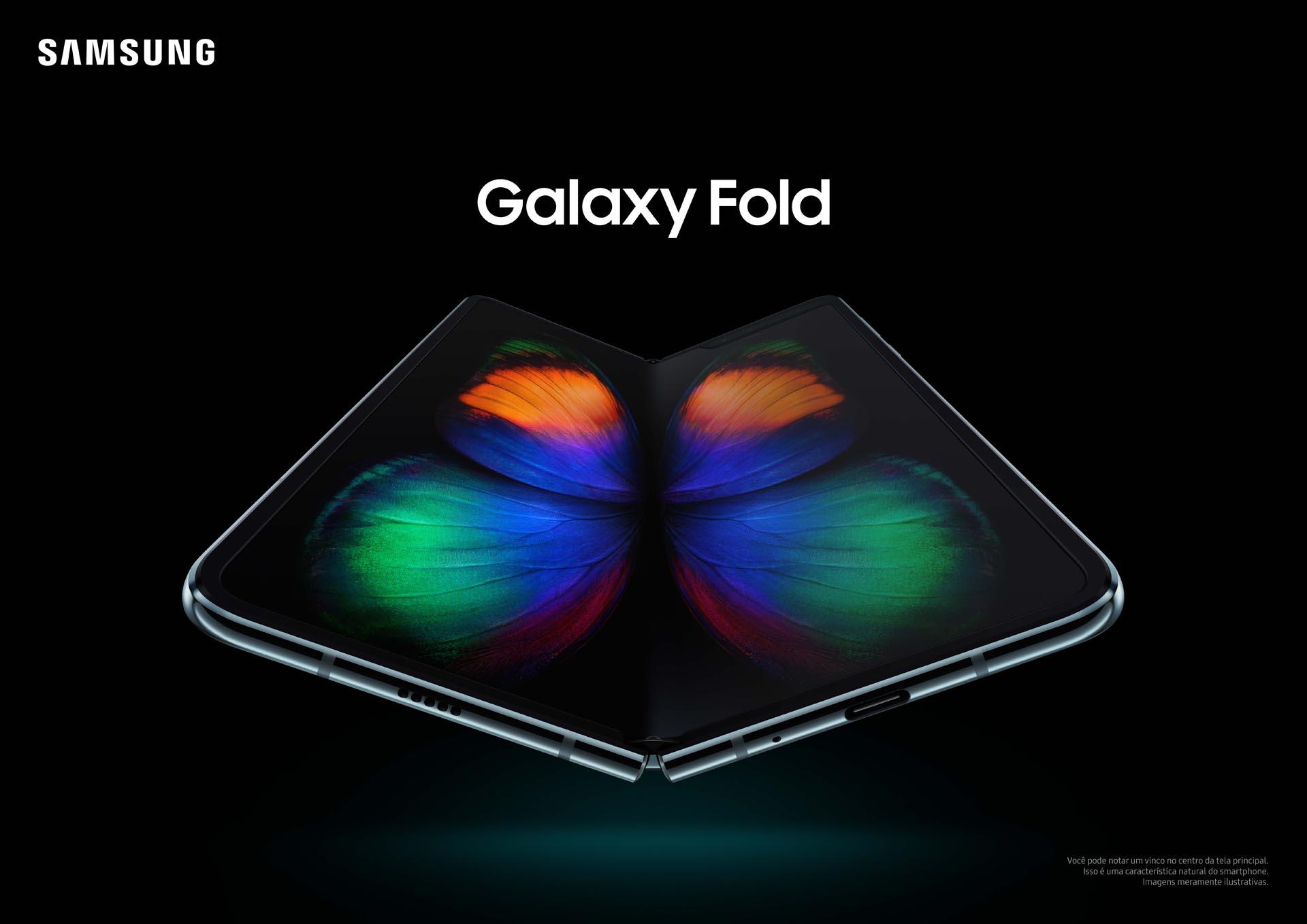 Assistente virtual Bixby proporcionada pelo Galaxy Fold