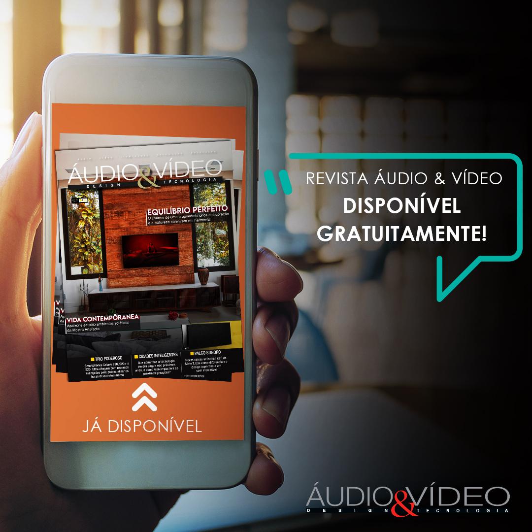 Edição 177 da Áudio & Vídeo - Design e tecnologia