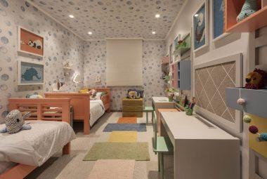 Decoração genderless em quartos infantis