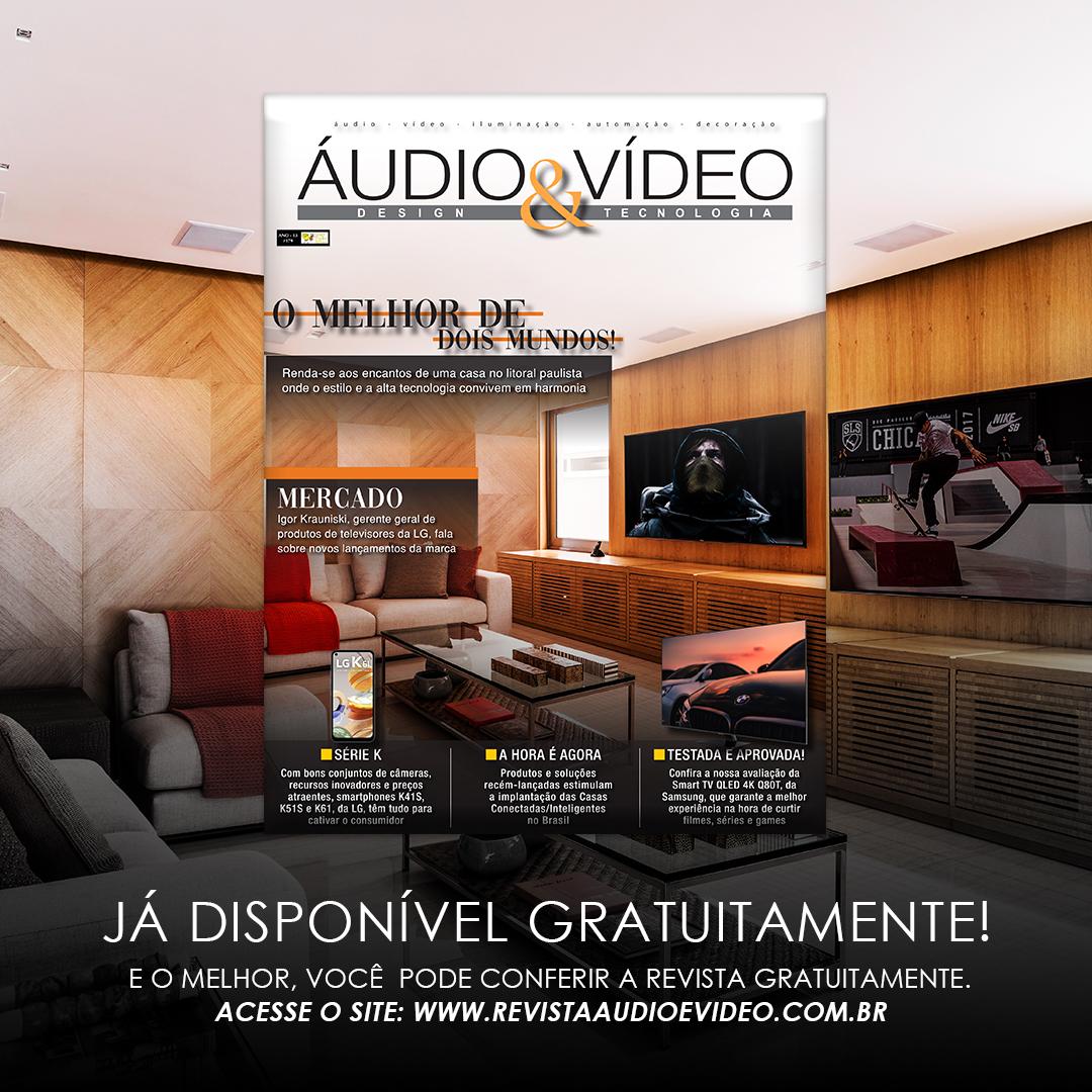 Edição 179 da Áudio & Vídeo - Design e Tecnologia