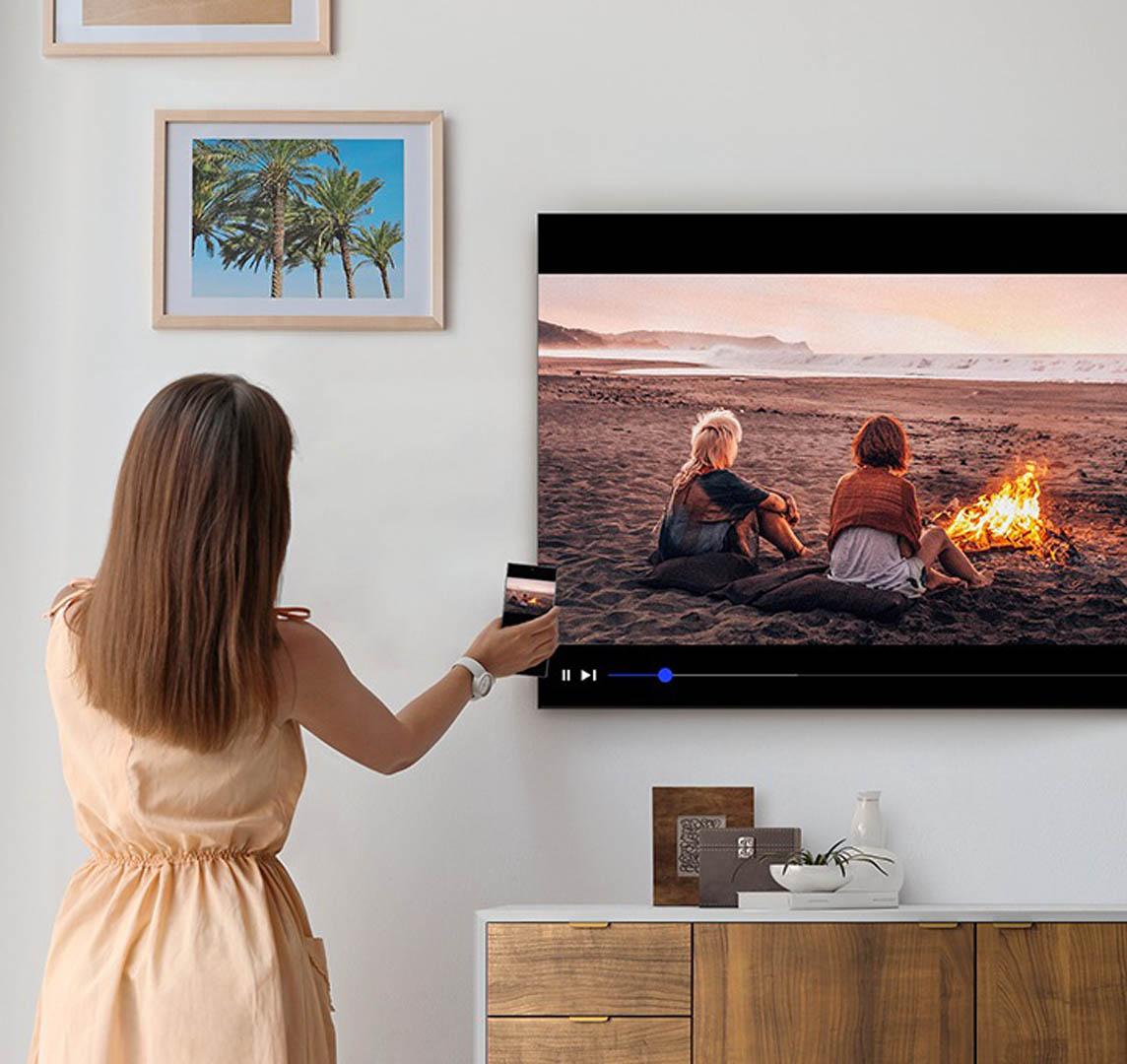 espelhar o conteúdo de seu smartphone em uma TV