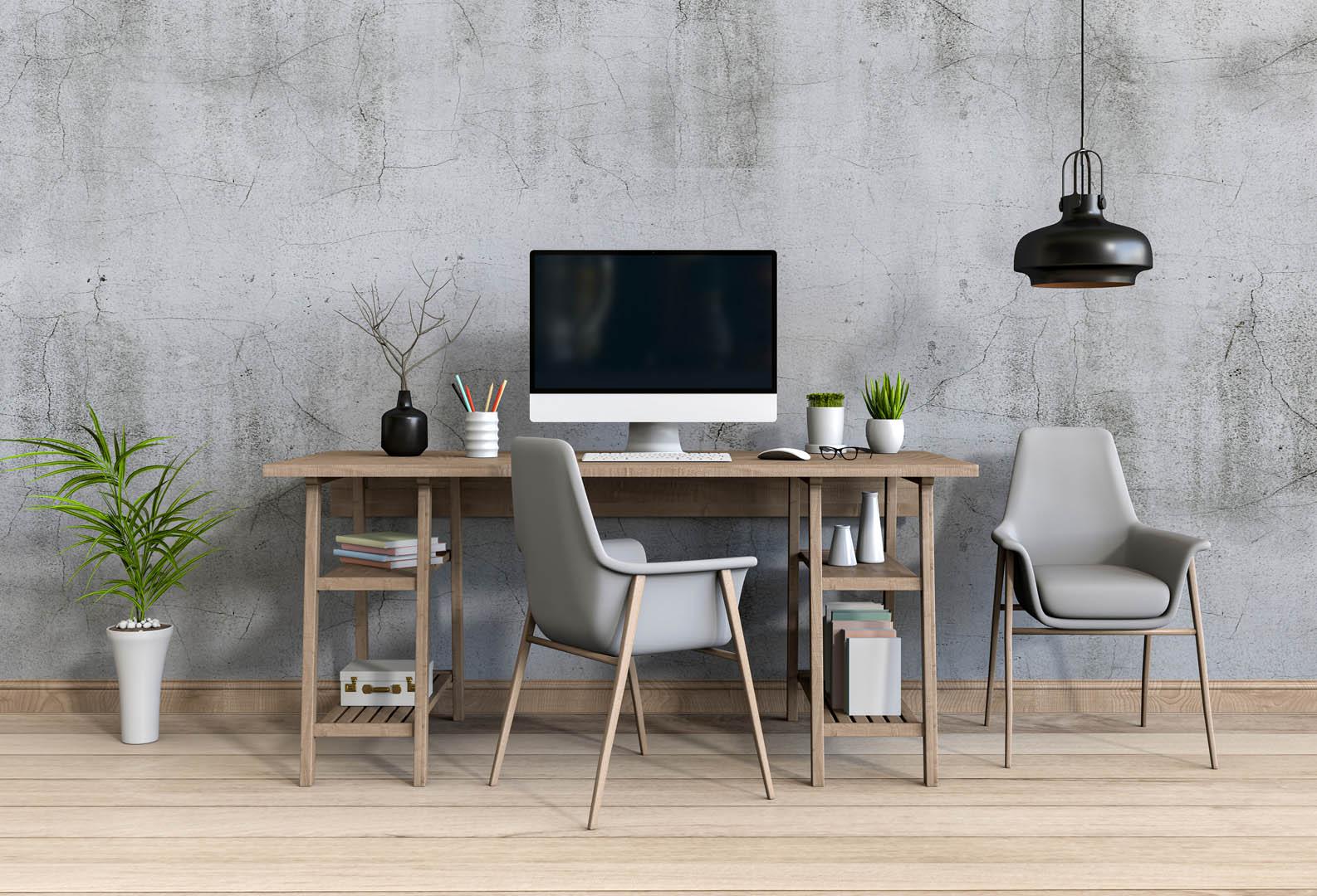 Home office organização e disciplina