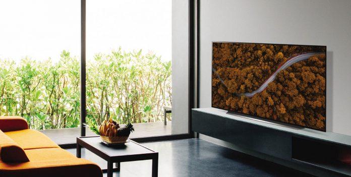 Nova linha de televisores OLED da LG