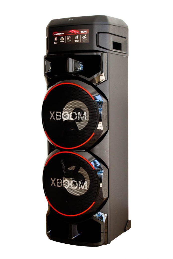 A caixa LG XBOOM RN9 reúne alto desempenho