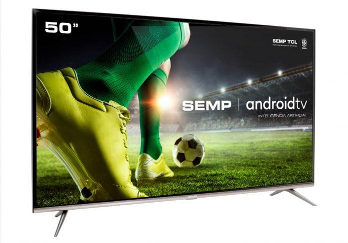 A Android TV 4K SK8300 traz diversos recursos