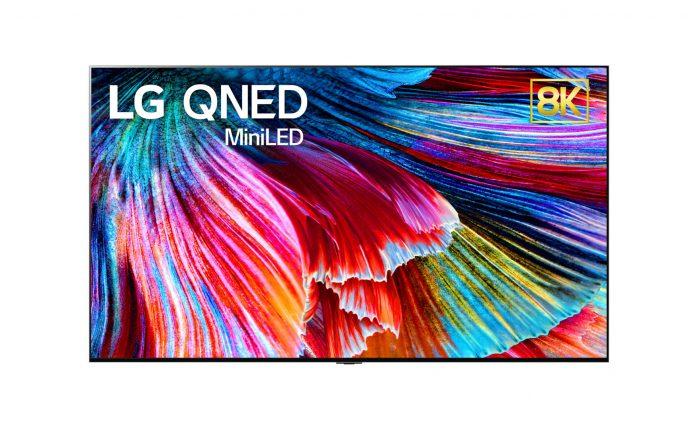 TV QNED Mini LED na CES 2021