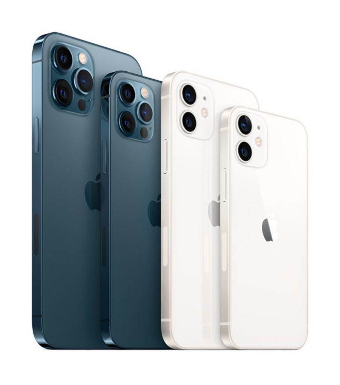 Novos iPhones 12 tem um visual atraente