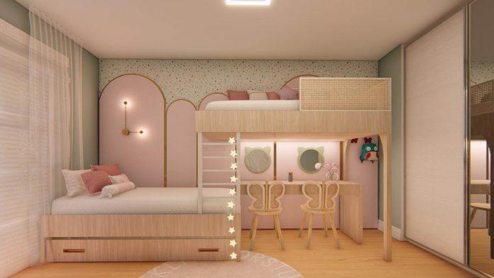 Decoração para quarto de gêmeos