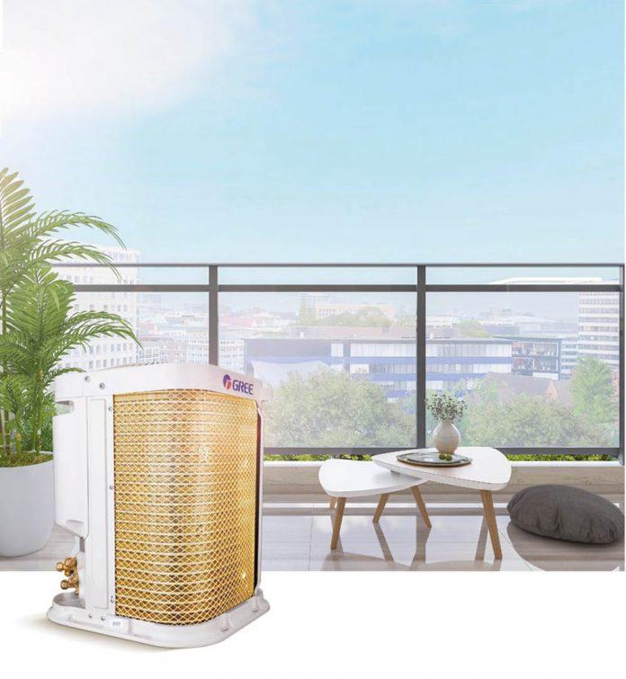 O ar-condicionado G-Top mantém o ar da casa limpo e saudável