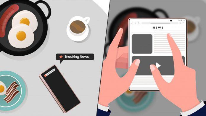 O Galaxy Z Fold2 5G auxilia a vida de empresários e executivos