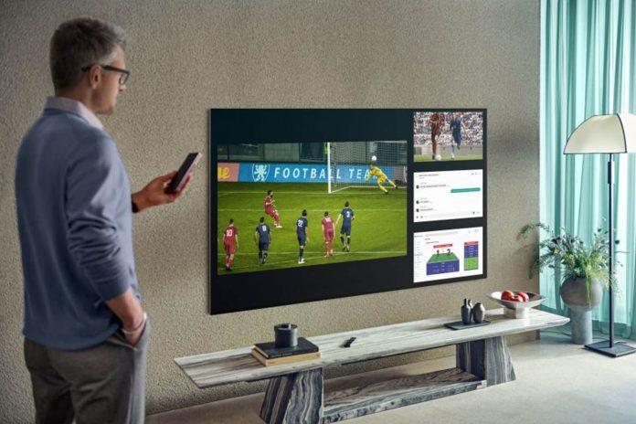 Em alguns modelos da Samsung, a função permite dividir a tela em até quatro