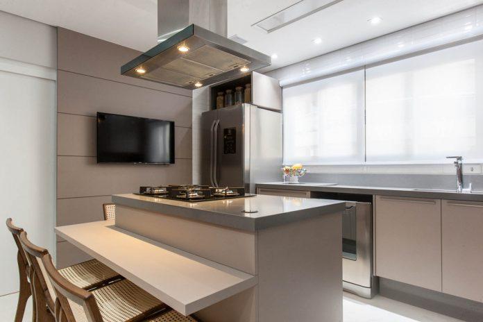 Copa e cozinha conectadas é tendência da arquitetura de interiores