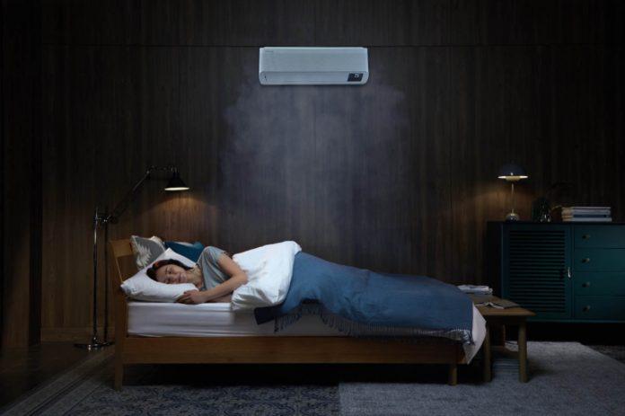 Aparelhos de ar condicionado da Samsung também oferecem conforto em dias frios
