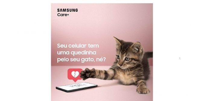 Samsung anuncia seguro para telas de smartphones