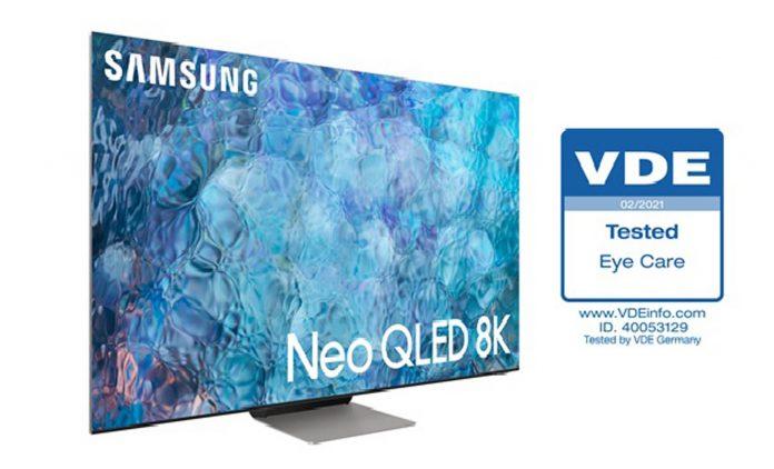 Novas TVs Neo QLED da Samsung obtém certificação inédita