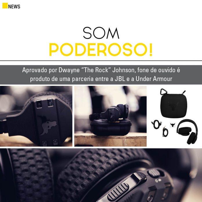 fone de ouvido UA Project Rock Over-Ear Training reúne estilo